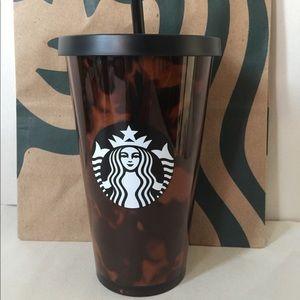 Starbucks Tortoise Shell Tumbler
